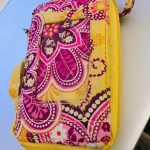 Vera Bradley Bali Gold phone/id case